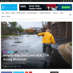 How to stay SAFE and HEALTHY during Monsoon - AryanPages