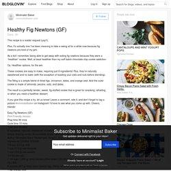 Healthy Fig Newtons (GF)