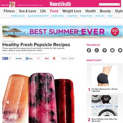 Healthy Fresh Popsicle Recipes