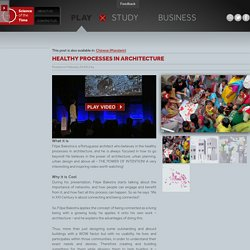 Healthy Processes in Architecture