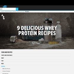 9 Healthy Whey Protein Recipes - Bodybuilding.com