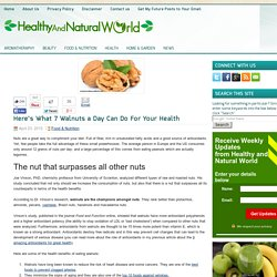 7 Healthy Reasons to Eat Walnuts Everyday