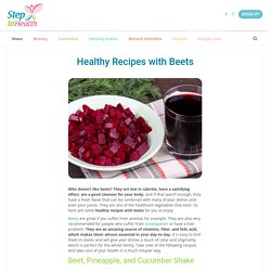 Healthy Recipes with Beets - Step to Health