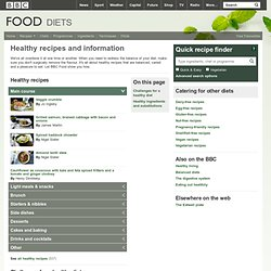 Food - Healthy recipes and information