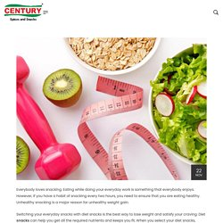 16 Healthy Diet Snacks to Lose Weight - Century Foods