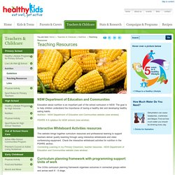 Healthy Kids : Teaching Resources