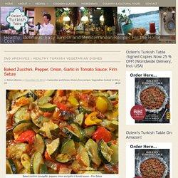 Tag: healthy Turkish vegetarian dishes