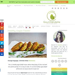 Healthy Vegan Falafel