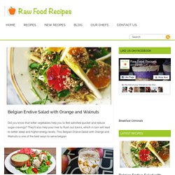 Free Healthy Vegetarian and Vegan Recipes - Raw Food Recipes