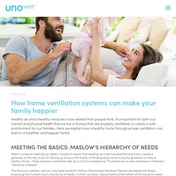 How home ventilation systems can make your family happier