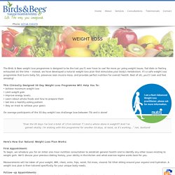 Weight Loss Programme By Birds And Bees