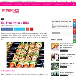 Eat Healthy at a BBQ - Women Fitness Magazine