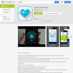 Heart Beat Rate Pouls sur smatphone