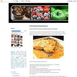 Crock Pot Creamy Mushroom Chicken