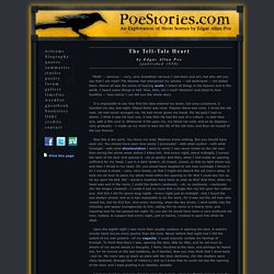 The Tell-Tale Heart by Edgar Allan Poe - Poestories.com
