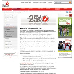 Heart Foundation Tick