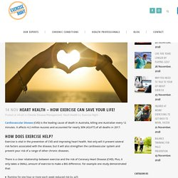 Heart Health - how exercise can save your life! - Exercise Right