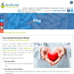 Heart Health this Heart Month