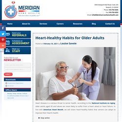 Heart-Healthy Habits for Older Adults