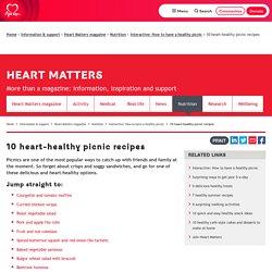 10 heart-healthy picnic recipes
