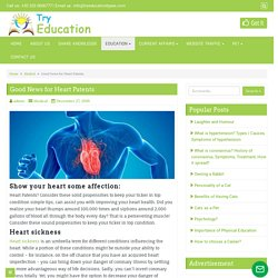 Good News for Heart Patents - Try Education Types