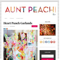 Heart Punch Garlands
