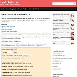 how to find your heart rate zone