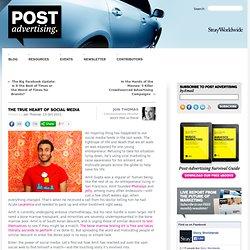 The True Heart of Social Media - Post-Advertising