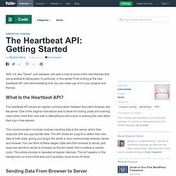 The Heartbeat API: Getting Started