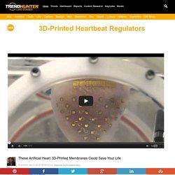 3D-Printed Heartbeat Regulators : 3D-printed membrane