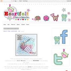 Heartfelt Handmade's Blog