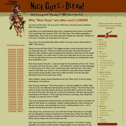 "Heartless Bitches International - Why ""Nice Guys"" are often such LOSERS"