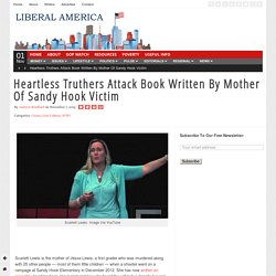 Heartless Truthers Attack Book Written By Mother Of Sandy Hook Victim
