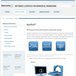 Software & Services for Biomedical Engineering