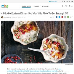4 Hearty Middle Eastern Recipes From Sofra Bakery & Cafe