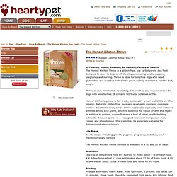 www.heartypet.com - The Honest Kitchen Thrive