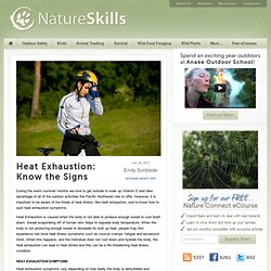 Heat Exhaustion: Know The Signs