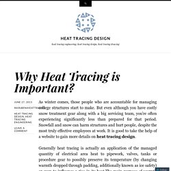 Why Heat Tracing is Important?