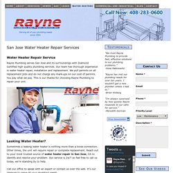 San Jose Water Heater Repair Company