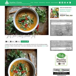 Heather Christo - Eat Well, Live Free. Deliciously Allergy Free Recipes.