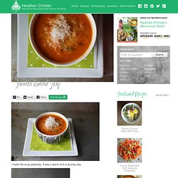 Tomato Bread Soup