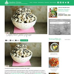 Cookies and Cream Popcorn