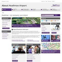 BAA: Official Site for BAA Airports