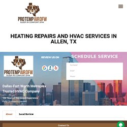 Heating and AC Repairs in Allen, TX