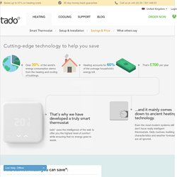Features overview - tado° - The Heating App