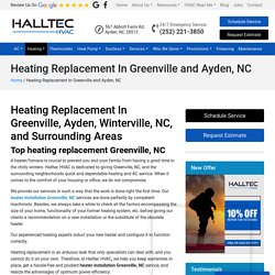 Heating Replacement In Greenville, NC