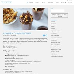 Heavenly CHOKLADMOUSSE