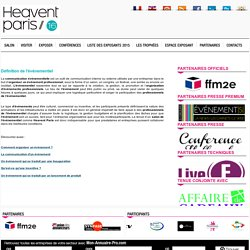 Heavent Paris : 15/17 novembre 2016