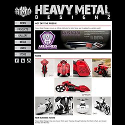 Heavy Metal Designz - News