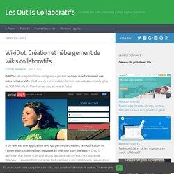 WikiDot. Création et hébergement de wikis collaboratifs – Les Outils Collaboratifs